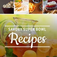 healthy and savory recipes for entertaining during the super bowl #healthbowl