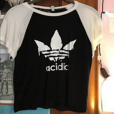 """OMIGHTY """"ACIDIC"""" crop top """"ACIDIC"""" crop top from O-MIGHTY, size large. New condition  O-MIGHTY Tops Crop Tops"""