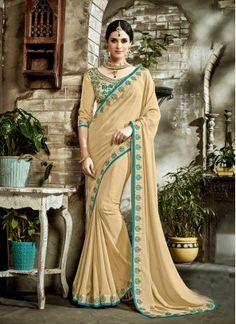 Sumptuous Faux Georgette Saree Shop online at your ease and pick designer party wear saree of your choice. It is no more an attire, but it now represents Indian culture, Indian fashion, and Indian women. Explore stunning latest designer party wear sarees at Indians Fashion.  So, shop with us and get the perfect look of elegance, beauty, and style. What are you waiting for! Start browsing through our vast collection and fill up your shopping cart because we are ready to ship!