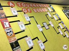 Well friends, I have never been so excited for a sporting event. In fact, this past weekend, I had to employ every bit of knowledge I have about the NCAA tournament (i.e. please read that as verylittle knowledge).  Our newest book display is up and I'm SO excited to share it with you. Even...
