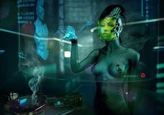 Awesome Digital Art by PiotrRusnarczyk