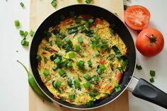Pomysł na śniadanie – frittata ze szpinakiem