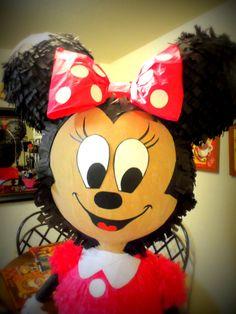Minnie Mouse Birthday Pinata