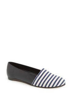 CB Made in Italy Stripe Flat Slip-On by CB Made in Italy on @nordstrom_rack