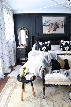 christine dovey style master bedroom: