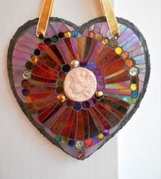Hey, I found this really awesome Etsy listing at https://www.etsy.com/uk/listing/497822564/art-nouveau-style-slate-mosaic-heart