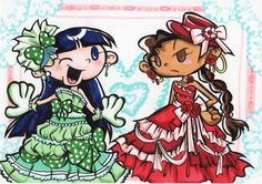 Dress up Numbuh 3and Nunbuh 5 by Yang-Mei.deviantart.com on @deviantART