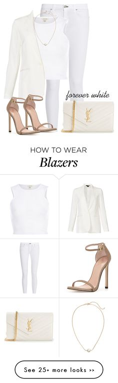 """""""Sem título #353"""" by cecebay on Polyvore featuring rag & bone/JEAN, River Island, Theory, H&M, Stuart Weitzman and Yves Saint Laurent"""