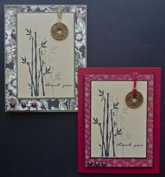 Tai Chi Thanks - ML128 by MarianneLamb - Cards and Paper Crafts at Splitcoaststampers