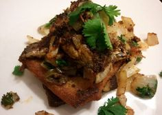 Sardines on fried toast Recipe -  I think Sardines on fried toast is a good dish to try in your home.