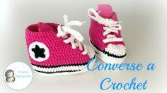 Zapatillas Converse a Crochet, Vídeotutorial
