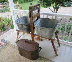 My vintage laundry tubs