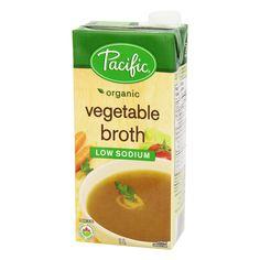 Pacific Organic Low Sodium Vegetable Broth - 1L