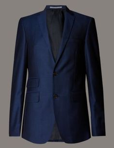 Official England Football Team Pure Wool Tailored Fit 2 Button Jacket  Clothing