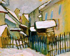 Gabriele Münter (German, 1877–1962) The Brewery, 1910–11