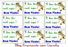 Ensinando com Carinho: Etiquetas personalizadas