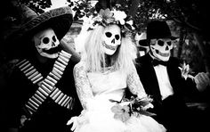 Love this idea! Kinda creepy, but perfect for an October wedding! ;)