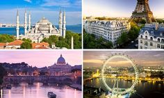 The top 10 destinations in the world revealed
