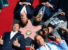 The Backstreet Boys celebrate their 20 year career with a Star on the Hollywood Walk of Fame in Hollywood, California on April Music Mix, Music Love, Good Music, Hollywood Star, Hollywood Walk Of Fame, Hollywood California, Backstreet Boys, Hollywood Boulevard, Fandom