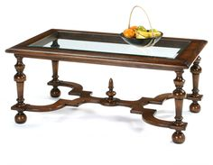Oak William and Mary Coffee Table - picture 1