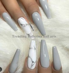 Best Stunning Marble Coffin Nails Inspirational Ideas You Must Try – Page 41 of 70 – Diaror Diary – Trendy Nails – Nails Marble Acrylic Nails, Classy Acrylic Nails, Acrylic Nails Coffin Short, Cute Acrylic Nail Designs, Best Acrylic Nails, Coffin Nails, How To Marble Nails, Dope Nails, Fun Nails