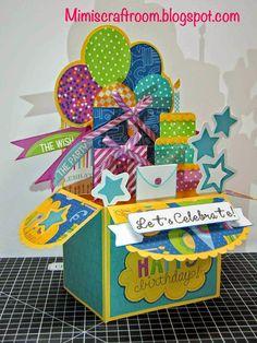 Mimi's Craft Room : Confetti Wishes - Color Dare #109