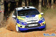 La campeona nacional Emma Falcón llega al mundial pletórica. #WRC #RallyedeEspaña #cars