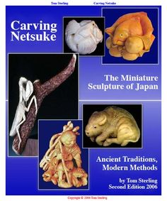 Free E Book by Tom Sterling   Carving Netsuke