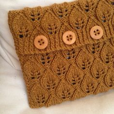 Knitted tablet cover iPad cover iPad Air by AccentsByLadyship