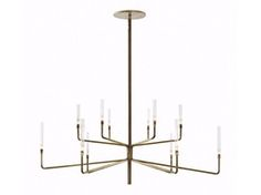 Epsilon Chandelier  Contemporary, Transitional, Glass, Metal, Chandelier by Nido…
