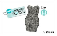 WIN: A Snake Print Tulip Dress AND a R2 000 GUESS Voucher!