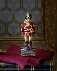 2014 Nutcracker Box by Jay Strongwater at Horchow. #HorchowHoliday14
