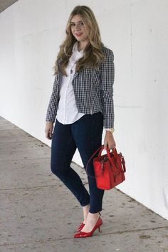 how to wear gingham without looking like Dorothy