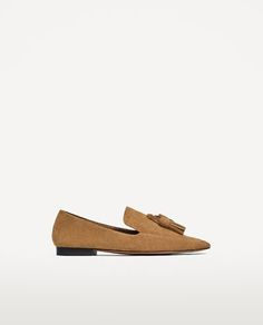 SPLIT LEATHER LOAFERS - Available in more colours