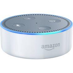 Boxa portabila Amazon Echo Dot 2nd Gen, Alb