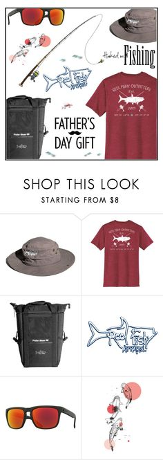 """""""A bad day can be made better with some fishing.. Father's Day - Reel Fishy Apparel #sample set"""" by almir-djulo-designs on Polyvore featuring But Another Innocent Tale, Electric, men's fashion i menswear"""