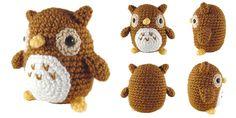 i crochet things: Free Crochet Pattern Friday: Mini Owl Amigurumi