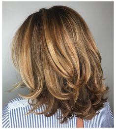 Medium Hair Cuts, Medium Hair Styles, Curly Hair Styles, Medium Cut, Medium Long, Layered Haircuts For Medium Hair, Lob Layered Haircut, Shoulder Length Layered Hairstyles, Haircuts For Medium Length Hair Layered
