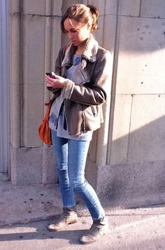 Shearling Jacket, Montreal street style