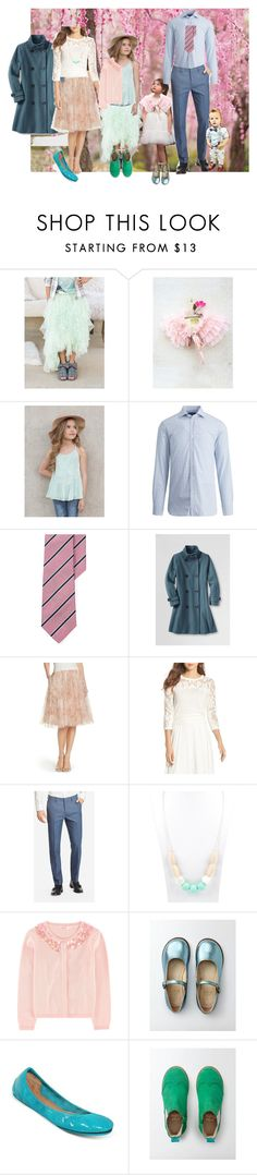 """""""Cherry Blossom Outfit Suggestion"""" by heather-mcduffy-tristan on Polyvore featuring Jenny Yoo and Tieks"""