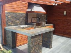 Tyni House, Grill Station, Ideas Para, Kitchen Island, House Plans, Bbq, Gardening, Iphone, Outdoor