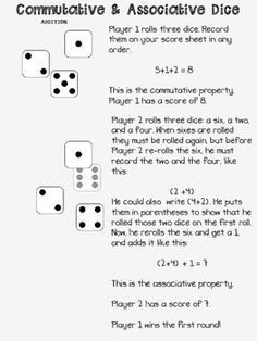 commutative multiplication graphic organizer projects to try pinterest more commutative. Black Bedroom Furniture Sets. Home Design Ideas