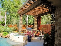 We have 20 years of experience designing and building Pergolas. We know the best materials, countless designs, and have the experience to build them fast and perfect. View our Pergola photo gallery. Cross Beam, Lattice Design, Living Environment, Backyard, Patio, Outdoor Living, Outdoor Decor, Pergola Designs, Living Spaces