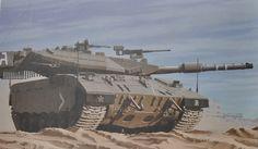 Model Meng TS-025 Israel Tank Merkava Mk. 3D Late Lic