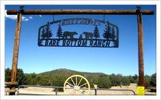 Bare Bottom Ranch Sign