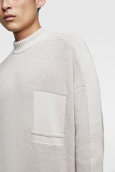 Knit Fashion, Knitting Designs, Knitwear, Sportswear, Men Sweater, Winter Tops, How To Wear, Style, Winter Time