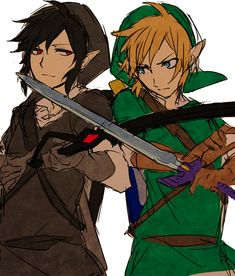 Link and Dark Link