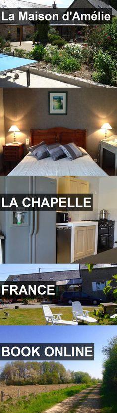 Hotel La Maison d'Amélie in La Chapelle, France. For more information, photos, reviews and best prices please follow the link. #France #LaChapelle #travel #vacation #hotel