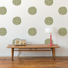 Flower Wall Decals 10 Blooms 13 in. or 18 blooms by byrdiegraphics