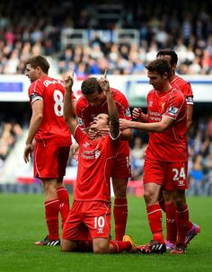 Coutinho after scored